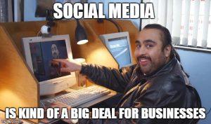 social media is a big deal