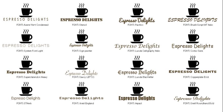Logo and branding example