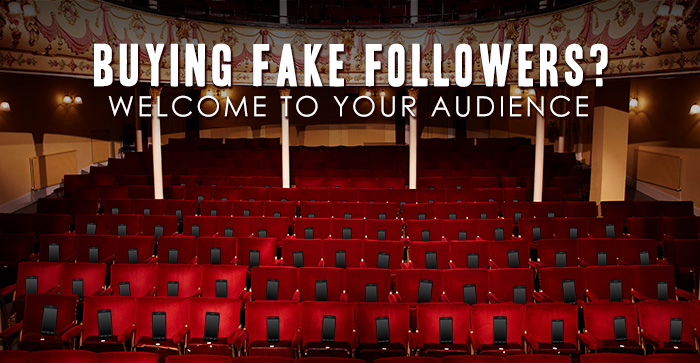 Buying fake followers?