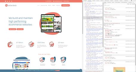 Chrome dev tools inspect