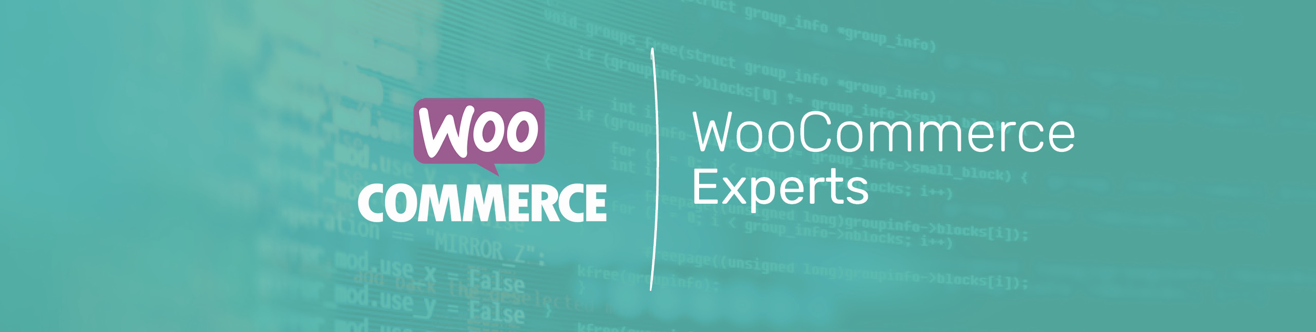 WooCommerce Logo on Green Background by sellerdeck a web design agency